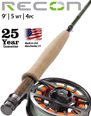 Recon 9' 5 weight Fly Rod Outfit